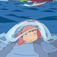 Un'immagine di Ponyo on the Cliff by the Sea