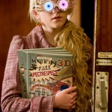 Evanna Lynch in una scena di Harry Potter e il principe mezzosangue