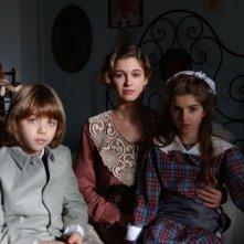 Ana Caterina Morariu sul set del film per la tv Il mistero del lago
