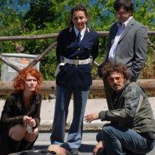 Una scena di gruppo de Il commissario Manara