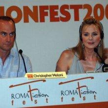 Christopher Meloni e Kim Cattrall al Roma Fiction Fest 2008