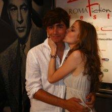 Edoardo Natoli e Mary Petruolo al Roma Fiction Fest 2008