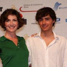 Giorgia Cardaci e Edoardo Natoli al Roma Fiction Fest 2008