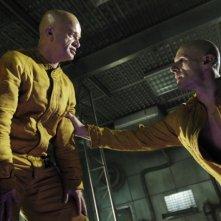 Dominique Pinon e Lambert Wilson in una scena di Dante 01
