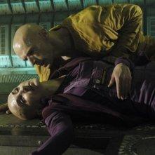 Lambert Wilson e Simona Maicanescu in una sequenza del film Dante 01