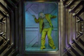 Lambert Wilson in una scena di Dante 01 di Marc Caro
