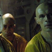 Lambert Wilson in una sequenza di Dante 01, diretto da Marc Caro