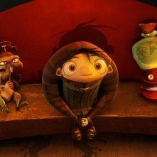 Scamper, Igor e Brain in una sequenza di Igor