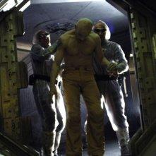 Un'immagine tratta dal film sci-fi Dante 01