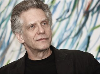 Un ritratto fotografico di David Cronenberg