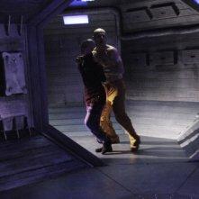 Una scena del film fantascientifico Dante 01