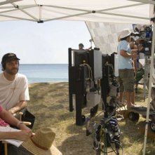 Judd Apatow e Nicholas Stoller sul set di Forgetting Sarah Marshall