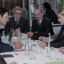 Luca Argentero e Claudia Gerini in una scena del film Diverso da chi?