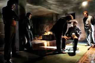 Una scena di gruppo di Romanzo Criminale - La serie