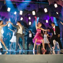 Vanessa Anne Hudgens, Zac Efron e Ashley Tisdale in una scena di High School Musical 3: Senior Year