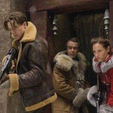 Brendan Fraser, John Hannah e Maria Bello in una scena del film La mummia 3