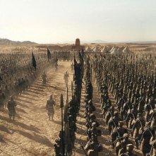 L'esercito di terracotta è chiamato alla battaglia in una scena de La mummia 3