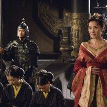 Michelle Yeoh in un'immagine del film La mummia 3