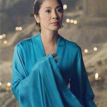 Michelle Yeoh in una sequenza del film La mummia 3 di Rob Cohen