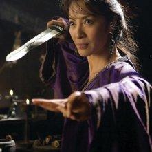 Michelle Yeoh interpreta la strega Zi Yuan nel film La mummia 3