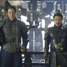 Russell Wong e Jet Li in una scena del film La mummia 3