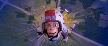 Ham III in un'immagine del film Space Chimps