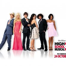 Wallpaper di High School Musical 3 con l'intero cast