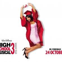 Wallpaper di High School Musical 3 con Monique Coleman