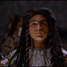 Alexis Cruz nel ruolo di Skaara, un Abydosiano posseduto dal Goa'uld Klorel, nella serie Stargate SG-1 episodio: L'incubo si avvera