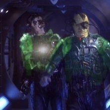 I temibili Borg androidi nemici della Federazione nella serie tv Enterprise, episodio: Rigenerazione