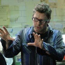 Il regista David Hackl sul set di Saw V