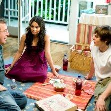 Il regista Kenny Ortega, Vanessa Anne Hudgens e Zac Efron sul set del film High School Musica 3: Senior Year