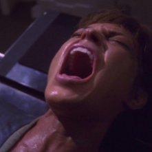 Il Subcomandante T'Pol, interpretata da Jolene Blalock, soffre per gli effetti del Trellium nell'episodio 'Effetti deleteri' della serie Enterprise