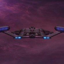 L'Enterprise sta per entrare nella Distesa Delphica nell'episodio 'Attacco alla Terra' della serie tv Enterprise