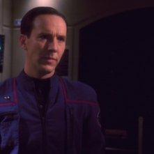 Matt Winston interpreta l'agente temporale Daniels nella serie tv Enteprise, episodio: Carpenter Street