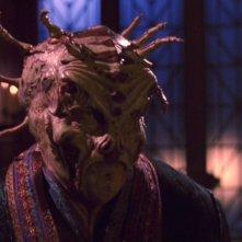 Maury Sterling nel ruolo dell'alieno Tarquin nell'episodio 'Esilio' della serie tv Enterprise