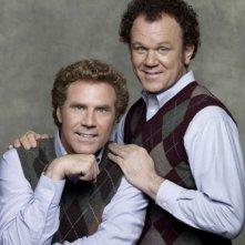 WIll Ferrell e John C. Reilly in una foto promozionale del film Fratellastri a 40 anni