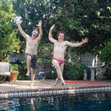 WIll Ferrell e John C. Reilly in una scena del film Fratellastri a 40 anni