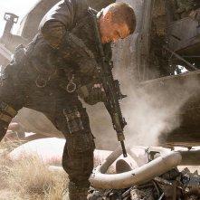 Christian Bale è John Connor in Terminator Salvation