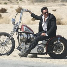 Michael Madsen in una scena del film Hell Ride