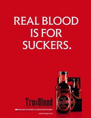 Un poster promozionale della serie True Blood