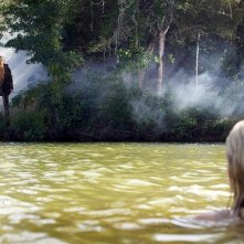 Una scena del film horror Friday the 13th