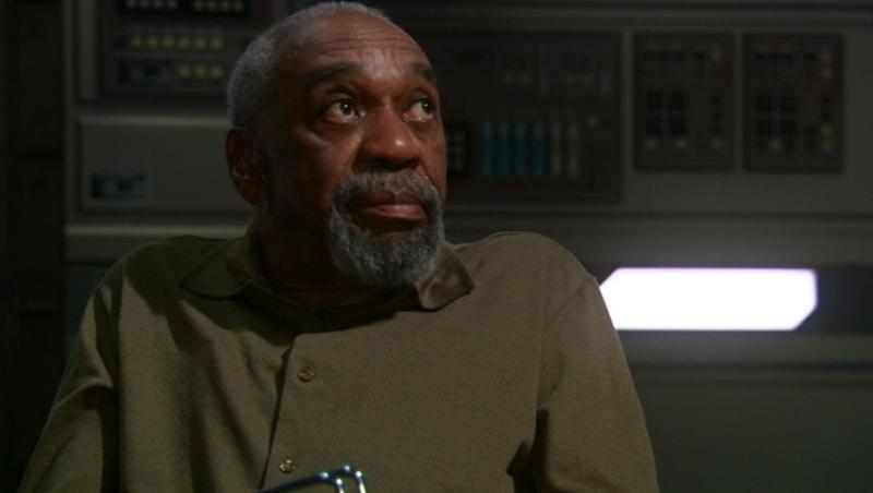 Bill Cobbs Nel Ruolo Dello Scienziato Emory Erickson Nell Episodio Dedalo Della Serie Tv Enteprise 83279
