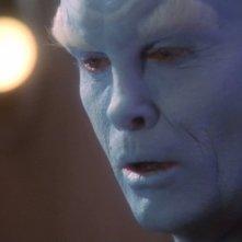 Jeffrey Combs nel ruolo del Comandante Shran, un Andoriano alleato dei Terrestri nella serie tv Enterprise, episodio: Il test.