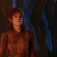 Kara Zediker nel ruolo di T'Pau, leader dei Syranniti nell'episodio 'Il Kir'shara' della serie tv Enterprise