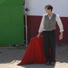 Adrien Brody in una sequenza di Manolete - Fra mito e passione