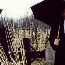 David Duchovny in un'immagine di un episodio di X-Files