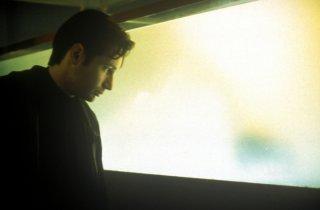 David Duchovny in una scena di X-Files