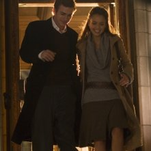 Hayden Christensen e Jessica Alba in una sequenza del film Presunta innocenza