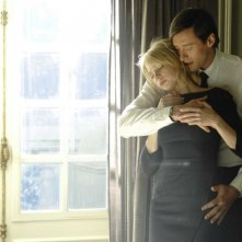 Michelle Williams e Hugh Jackman in una sequenza del film Sex List - Omicidio a tre